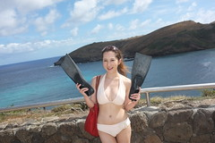 Aloha~✈B Day Trip in Hawaii. Day 2.- Hanauma Bay 恐龍灣 19 Sep. 13. by Carolyn Huang -