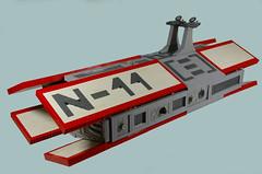 The N-11 (SHIPtember entry) (N-11 Ordo) Tags: star big ship republic huge wars cruiser entry spacecraft ordo the n11 shiptember playfunctions