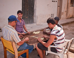 Playing Dominos: A Cuban Past Time (Tay | Photography) Tags: playing sitting havana cuba games dominos pasttime