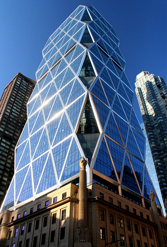 The Hearst Tower in Manhattan, New York by o palsson, on Flickr