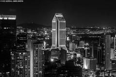 ..From Above.. (azirull amin aripin) Tags: bw blackwhite cityscape nightscape nightshoot malaysia getty kualalumpur menara gettyimage maybank d90 nightcityscape azirull vision:sky=0591 vision:dark=0925 vision:outdoor=0969
