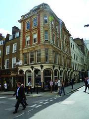 Period property on corner of Jermyn Street and Duke of York Street.