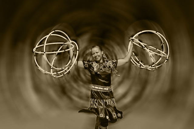 Traditional Hoop Dancing