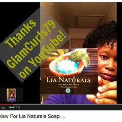 Check out our review from the beautiful GlamCurls79 on YouTube!! http://www.youtube.com/watch?v=0W11LFUlv5E She loves her #Lianaturals Bath And Body #soaps! #naturalhair #shampoobar #hair (LiaNaturals) Tags: hair square squareformat naturalhair soaps shampoobar uploaded:by=instagram lianaturals wwwlianaturalscom