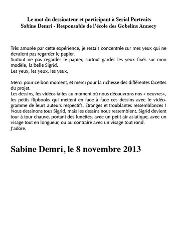 "Dévoilement-33-Sabine Demri • <a style=""font-size:0.8em;"" href=""http://www.flickr.com/photos/12564537@N08/10905119865/"" target=""_blank"">View on Flickr</a>"