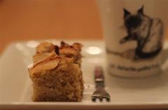 5 o'clock (judi may - more off than on) Tags: cake tea plate fork mug applecake fms