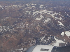 Andenberquerung; over the Andes arriving in Santiago, Chile! (ANNE LOTTE) Tags: schnee berge anden annelotte sdamerika flugberdieanden