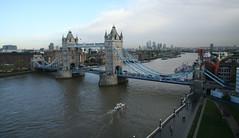 2013_11_20_london-towerbridge_08 (dsearls) Tags: bridge blue sky london water thames towerbridge river cityhall transport riverthames londontowerbridge londoncityhall anthropocene 20131120