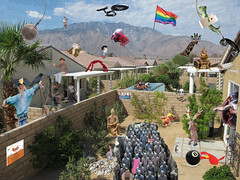 Catch Photo #24T (gaymay) Tags: california gay red rabbit bunny love face rock ball reindeer happy monkey james flyer backyard cowboy phone dress desert mask god flag telephone ghost jerry palmsprings scarecrow statues rope lizard eightball warrior spaceship gecko giraffe crow swinging enterprise spa rainbowflag superboy chesspiece burglar pushing triad iphone lasso bendingover wreckingball redbird evilmonkey mountainclimber darek practicaljokers