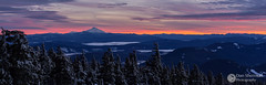 Timberline View (Dan Sherman) Tags: winter light sunset sky snow mountains oregon portland landscape view unitedstates mtjefferson portlandoregon winterscape timberline mountjefferson governmentcamp