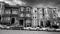 victorian style houses.jpg (Lexe-I) Tags: street ladies white plant black modern garden square bay san francisco pacific painted hill victorian modernism haightashbury area heights alamo laurel telegraph lombard frisco california
