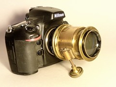 Emil Bush A-G Rathenow Neokino 52,5 110 mm (sn 342572) on Nikon D800 n4 (heritagefutures) Tags: berlin germany lens design bush nikon kino projector 110 fil projection german ag formula mm cinematic brass bound 525 emil desgin busch d800 optic optik rathenow petzval neokino