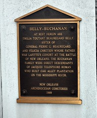 Belly Buchanan plaque