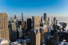 Brisk, call it that (aerojad) Tags: winter snow chicago skyline chiberia