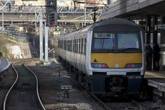 321366 Passes Stratford (TheJRB) Tags: uk london station electric train ga transport rail railway trains 321 rails emu stratford unit anglia sra brel electricmultipleunit class321 abellio 321366 321448 greateranglia 5v28