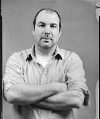 Portraits à la chambre (Denis G.) Tags: rodinal chambre largeformat sinar viewcamera imagin foma100 grandformat 2013 standdev largeformatportrait