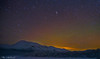 Andromeda (AngryTheInch42) Tags: sky lake snow mountains art nature stars landscape lights frozen space lappland north astro arctic andromeda galaxy astrophotography aurora lapland astronomy nightsky colourful northern kiruna northernlights auroraborealis d800