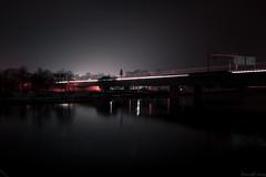 (RuinOfDecay!) Tags: bridge winter red white black canon eos long exposure time decay ruin 55mm brcke regensburg ratisbon januar 18mm 2014 pfaffensteiner langszeitbelichtung 1000d ruinofdecay