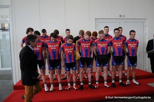 Ploegvoorstelling Davo Cycling Team (1)