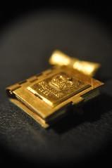 2014 A-Z Challenge (oakwoodlott) Tags: golden nikon brooch d90 nikond90 azchallenge