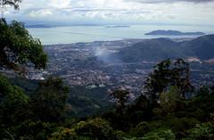 Penang Bridge - Malaysia (scuba_dooba) Tags: malaysia malaya se asia sea film scan scanner epson gt7000 gt 7000 flatbed penang bridge jambatan pulau pinang 槟威大桥 பினாங்கு பாலம் kodak ektachrome 200 nikon fe 35mm hill opticfilm 7600i 7200dpi wolf faust vuescan reel11 plustek