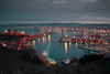 El Musel (Trenero EFC) Tags: de puerto atardecer barco chinese asturias el filter nd gijon ocaso density buque chino torres neutral filtro campa neutra densidad musel