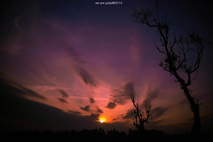 dark tranquility (alif  mim  ya  nun) Tags: sunset sky cloud nature sunshine silhouette backlight digital dawn twilight nikon flickr dramatic glorious memory flare cinematic sillhouette terengganu mesmerizing backlite manir silwek keborair wearegrafy wearegrafy©2014