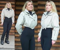 nils - silver (skisuitguy) Tags: snow ski suit nylon snowsuit skisuit