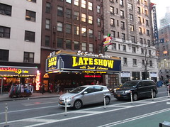CBS Late Show With David Letterman (YouTuber) Tags: nyc newyorkcity manhattan cbs lateshowwithdavidletterman