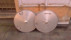 Silva? disc wheels aluminium 750c (Italo Romani) Tags: la wheels disc silva alu olmo campagnolo crono mozzi humbs lenticolare lenticolari rauler biciclissima