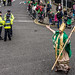St. Patrick's Parade 2014 In Dublin - Backstage In Advance Of The Actual Parade