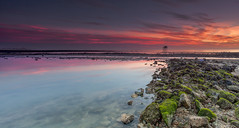 Fouras. Charente Maritime, France. (Perez Alonso Photography) Tags: light sea seascape france colour luz beach beautiful beauty canon landscape atardecer landscapes meer long colours mark sunsets adventure arena nd contraste 5d atardeceres scape francia hitech playas rocas ii aventura 24105 filtros charentemaritime poitoucharente canon flickraward filtros exposure graduados