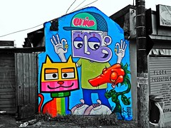 Minhau, Chivitz & Binho's Graffiti - TUCURUVI - São Paulo, Brazil (@cachorrosujo) Tags: graffiti sãopaulo sp chivitz binho minhau tucuruvi znlovers