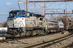 Amtrak Northeast Regional Train 85 (MIDEXJET (Thank you for over 2 million views!)) Tags: unitedstatesofamerica amtrak p32 deleware wilmington nec generalelectric northeastcorridor wilmingtondeleware northeastregional p32bwh train85