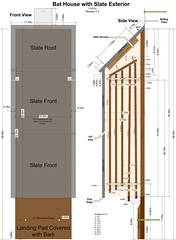 BatHouseWithSlateExterior1.5 (yaquina) Tags: house bat plan slate plans partitions removable