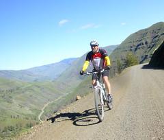 Joseph Plains Spring Loop Ride (Doug Goodenough) Tags: joseph plains idaho spring 2014 14 april scott sun clouds climb bicycle bike ride gravel grinding drg53114p drg5314pjoseph drg531p pedals spokes drg531