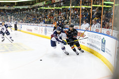 "Missouri Mavericks vs. Tulsa Oilers, March 5, 2017, Silverstein Eye Centers Arena, Independence, Missouri.  Photo: John Howe / Howe Creative Photography • <a style=""font-size:0.8em;"" href=""http://www.flickr.com/photos/134016632@N02/32471120034/"" target=""_blank"">View on Flickr</a>"