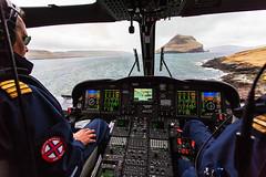 OY-HIH AgustaWestland AW139 Atlantic Airways (Andreas Eriksson - VstPic) Tags: oyhih agustawestland aw139 atlantic airways faroeline139 arriving koltur from torshavn