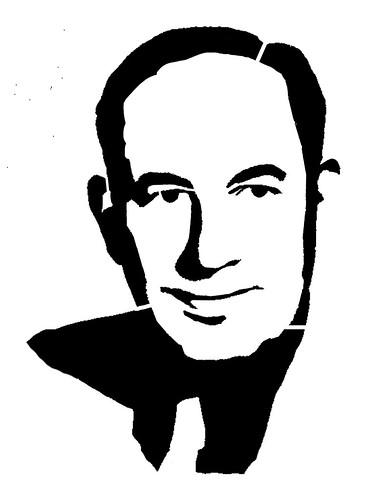 Gummo Marx t-shirt stencil