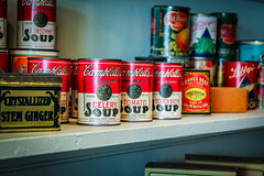 Soup is Good Food (Naturali Images) Tags: soup canned goods pantry vintage