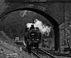 Railway (MrAlbionMan) Tags: locomotive steam train preservedsteam blackandwhite challengegamewinner