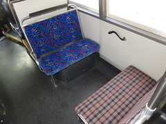 MAN SL202 Seats - Old vs New Upholstery (RS 1990) Tags: adelaide southaustralia friday 10th march 2017 bus seats old new upholstery man sl202 cng