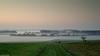 Fruitful (Prismensucher) Tags: nebel morgen siedlung niederrhein grün wiese acker feld fog morning lowerrhine green mist haze landscape fruchtbar fruitful settlement field landschaft häuser houses