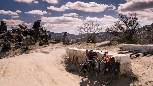Setting out on the Baja Divide