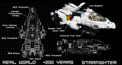 PDF Technical (Si-MOCs) Tags: realworldstarfighter rw200 contest seeitsminifigscale 720pewsbaby