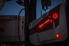Volvo FH IV 540 Globetrotter XL - King Cargo (GR) *INTERIOR* (Michał Szczerbowski) Tags: volvo fh iv 540 globetrotter xl king cargo volvotrucks wnętrze noc interior goinstyle