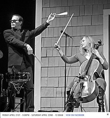 Nineteen Thirteen - Jazz Estate - 21 April 2017 - Photo by Doug Seymour (Doug Seymour) Tags: nineteen thirteen 1913 in concert jazz estate milwaukee wi wisconsin 21 april 2017 photo by doug seymour victor delorenzo drums violent femmes janet schiff cello