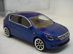 MAJORETTE PEUGEOT 308 GT NO4 1/64 (ambassador84 OVER 7 MILLION VIEWS. :-)) Tags: majorette peugeot308gt diecast