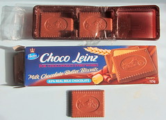 Choco Leinz Biscuit With Chopper Design Milk Chocolate Butter Biscuit By Happy (Kelvin64) Tags: choco leinz biscuit with motorbike design milk chocolate butter by happy chopper