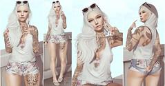 White Chocolate ♫ (Selena Paine) Tags: secondlife catwa doux zoom applique egozy maitreya blogger fashionblog blog